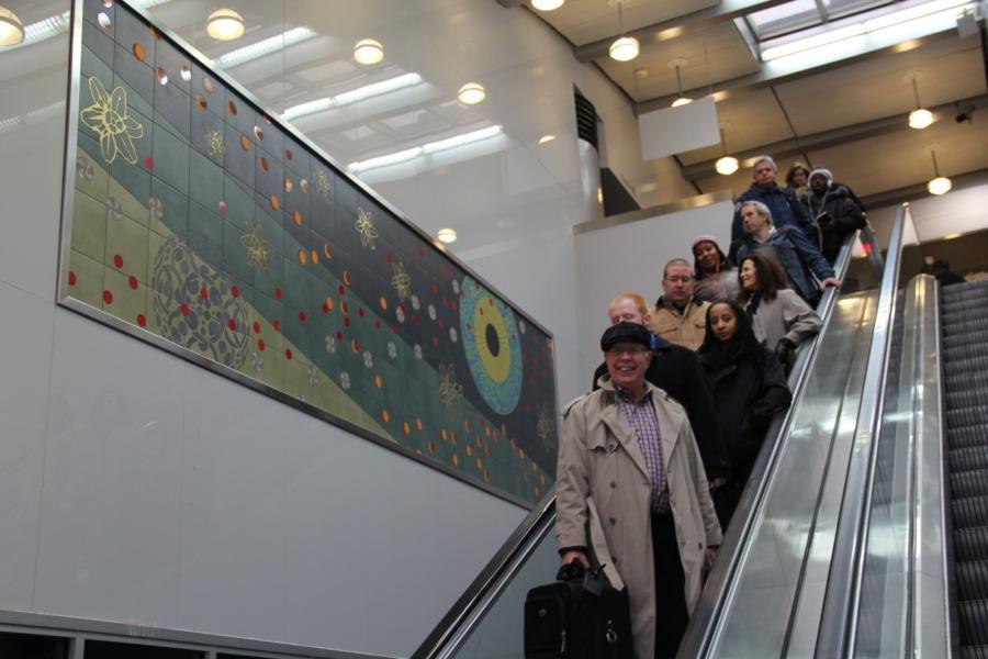 Lambert-St. Louis Airport elevator passengers